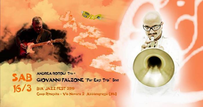 Falzone Far East Trip 5tet + Rotoli trio